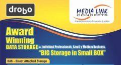 Drobo RAID Storage -Big Storage in Small Box