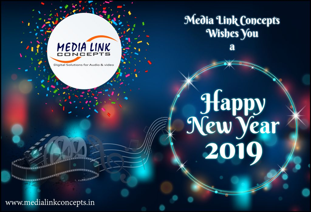 medialinkconcepts wish a happy new 2019