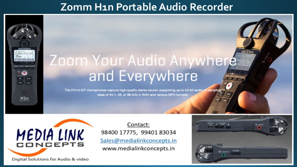 Zoom your Audio Anywhere and Everywhere