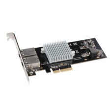 Presto 10GBASE-T Ethernet 2-Port PCIe Card  [Thunderbolt compatible] model no G10E-2X-E3