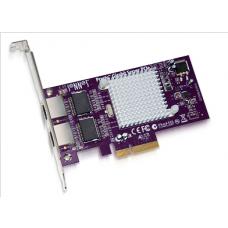 Presto Gigabit Ethernet Server 2-Port PCIe Card (Supports Jumbo Packets and Link Aggregation) model no GE1000LA2XA-E