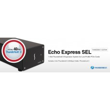 Echo Express SEL Thunderbolt 3 Edition - 1-Slot Low-Profile PCIe Card Expansion System