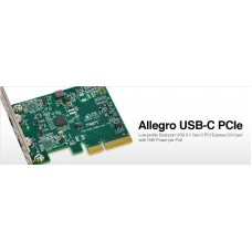 Allegro USB-C 4-port PCIe Card [Thunderbolt compatible] model no USB3C-2PM-E