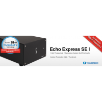 Echo Express SE I Thunderbolt 2-to-PCIe Expansion Chassis (One slot) model no ECHO-EXP-SE1